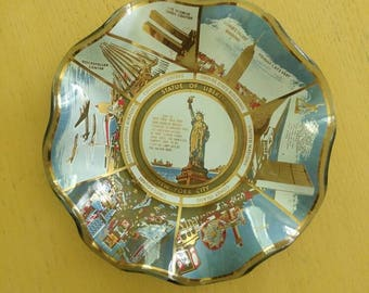 Vintage New York City Collector Plate