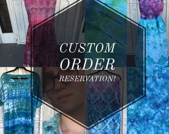 Custom/Made To Order Reservation | PLEASE READ DESCRIPTION