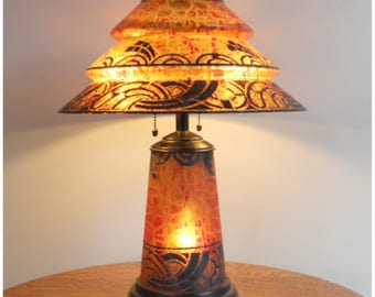 A8141 Art Deco Table Lamp