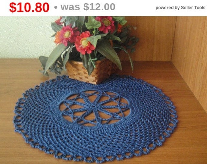 Blue napkin Central napkin table decoration gift 2016 napkin crochet doily decorations for vases vintage openwork napkin .