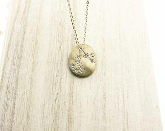 Necklace sign Zodiac (PISCES) of COFA12019 neck Choker