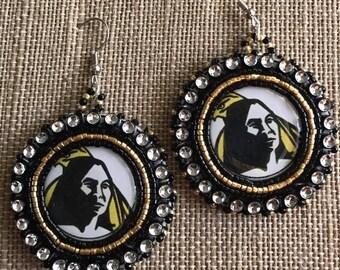 Pembroke Beaded Earrings Free Shipping Available