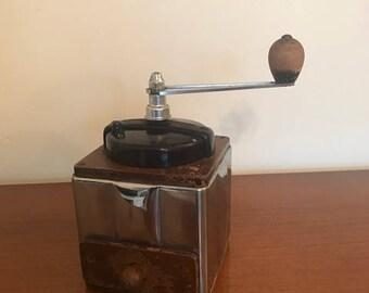Mid century coffee grinder / Peugeot / French / vintage / Bakelite