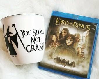 You Shall Not Crash Coffee Mug