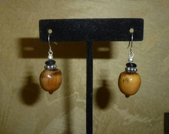 Acorn Earrings #210