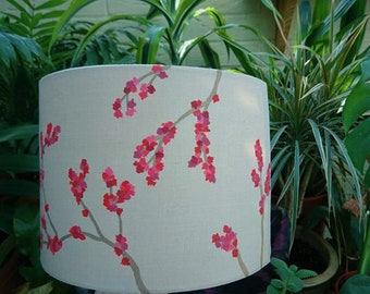 Hand painted lampshade.