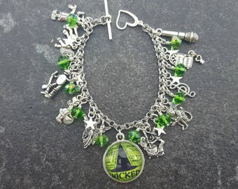 Wicked the musical inspired charm bracelet