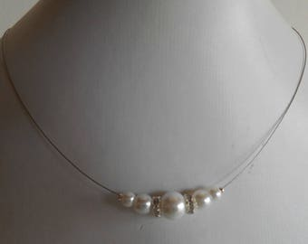 Bridal rhinestone and pearls