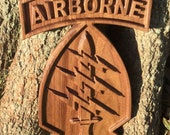 Airborne Special Forces / Green Berets plaque