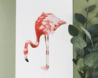 Flamingo A3 Print