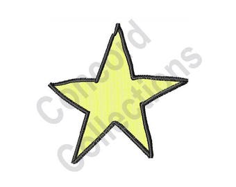 Star - Machine Embroidery Design
