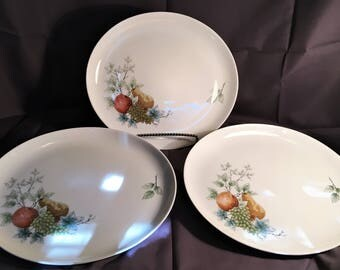 Syracuse China Carefree True China Wayside Full Size Turkey Platter Cottage Décor