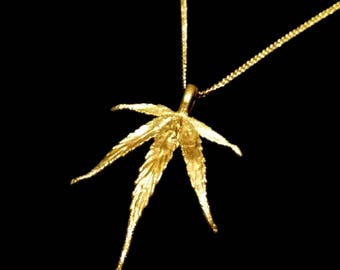 "18k Gold ""Super Silver Haze"" Necklace"