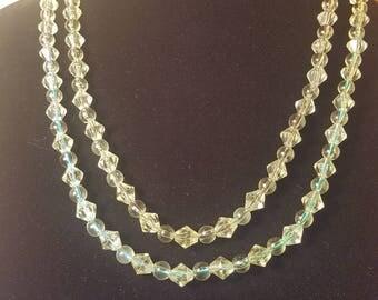 Beaded Necklaces - Round & Diamond