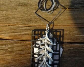 Unique Leaf Branch Necklace