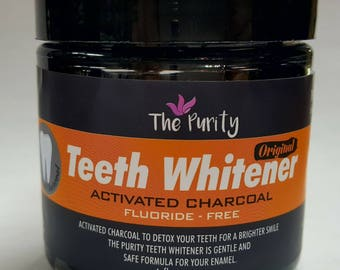 Activated Charcoal Teeth Whitener 2 oz