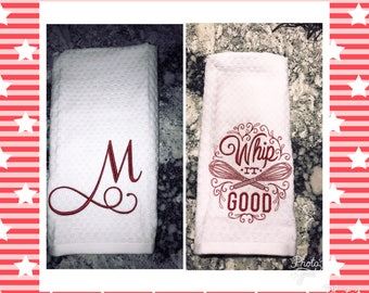 Personalized/Made To Order Dishtowels