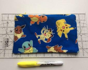 Pokemon pencil case/ make up bag