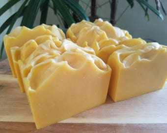 Lemon Zest,  handmade soap, natural soap, australian soap, Shae Scentials