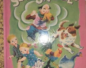 Vintage Little Golden Book the Seven Sneezes rare Olga Cabral Tibor Gergely 1948