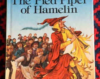 Vintage Ladybird Book-The Pied Piper of Hamelin