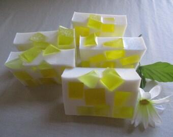 Pineapple Mango- Handcrafted Glycerin Soap, Glycerin Soap.