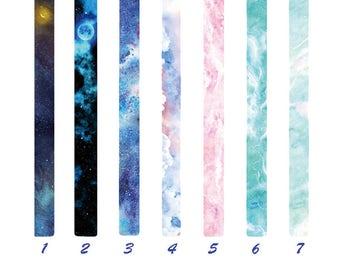 Skyscape Tape, Creative, Fantastic, Stationery, Colourful