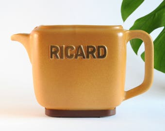French RICARD Water Carafe-Can - Pastis Barware - Vintage