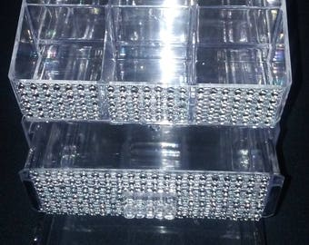 Blinged Out Small Acrylic Storage Container