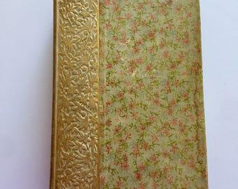"SALE***1892 ""Longfellow's Early Poems"" Antique Hardback Book"