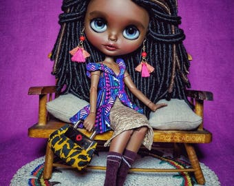 On lay away.. Reserved please do not buy Ooak customized blythe factory doll/ PARIS