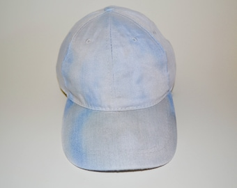 Knockout - Black and Blue Tie-Dye Baseball Cap