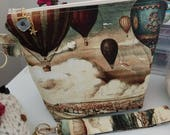 Around the World in 80 Days...Hot Air Balloon Bag