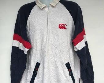 Vintage 90s Canterburry sweatshirt with big logo