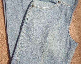 Vintage High Waisted LL Bean Jeans size 14