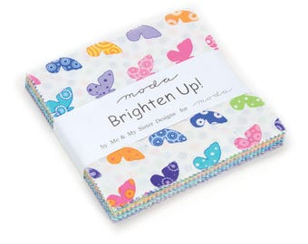 Moda Brighten Up! Charm Pack by Me & My Sister Designs