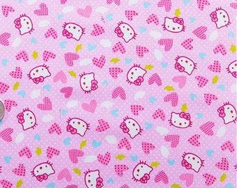 COUPON fabrics BABY kitty 165 X 107 CM