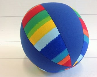 Balloon Ball Baby, Balloon Cover, Balloon Ball, Ball, Kids, Rainbow, Blue, Portable Ball, Travel Toy, Travel, Eumundi Kids, Eumundi