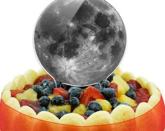 Full Moon Cake Top Topper