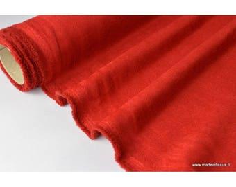Suedine ameublement rouge x50cm