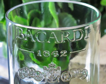 elegant vase bacardi rum bottle home decor gift idea gift for wife vase gift table centerpiece recycled  liquor cabinet unique gift idea for