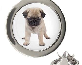 Pug Puppy Design 1.5cm Lapel Pin