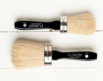 Fusion Natural Bristle Paint Brushes