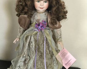 Vintage**Paradise Galleries Porcelain Doll*