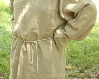 Men's Medieval noble Tunic ,Rustic Shirt, Renaissance Shirt, Men's Shirt,Victorian Shirt Hemp Medieval clothing