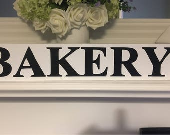 Bakery Farmhouse style sign rustic shabby wedding scandinavian