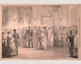 Washington, DC – Franklin Pierce - The White House - 1853