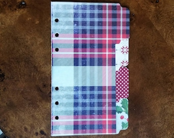 Personal Planner Christmas Dividers