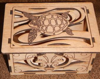 Sensuous Sea Sea Turtle Box