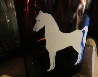 White Horse Bottle (RePainted)